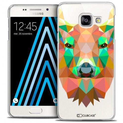Carcasa Crystal Extra Fina Galaxy A3 2016 (A310) Polygon Animals Ciervo