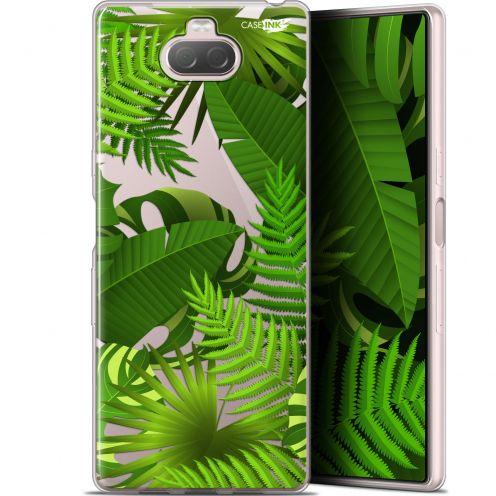 "Carcasa Gel Extra Fina Sony Xperia 10 Plus (6.5"") Design Plantes des Tropiques"