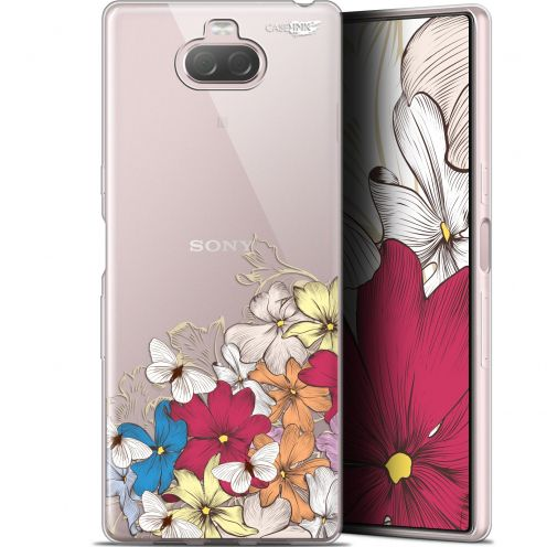 "Carcasa Gel Extra Fina Sony Xperia 10 Plus (6.5"") Design Nuage Floral"