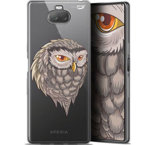 "Carcasa Gel Extra Fina Sony Xperia 10 Plus (6.5"") Design Hibou Draw"