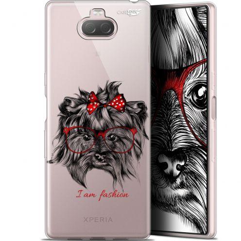 "Carcasa Gel Extra Fina Sony Xperia 10 Plus (6.5"") Design Fashion Dog"