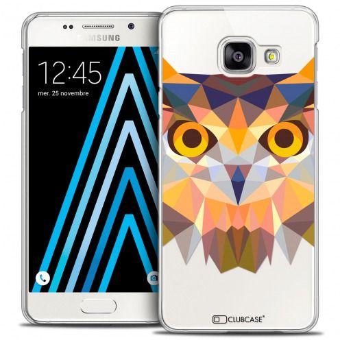 Carcasa Crystal Extra Fina Galaxy A3 2016 (A310) Polygon Animals Búho