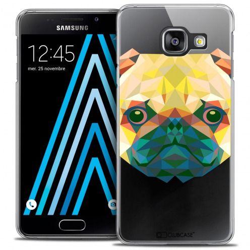 Carcasa Crystal Extra Fina Galaxy A3 2016 (A310) Polygon Animals Perro