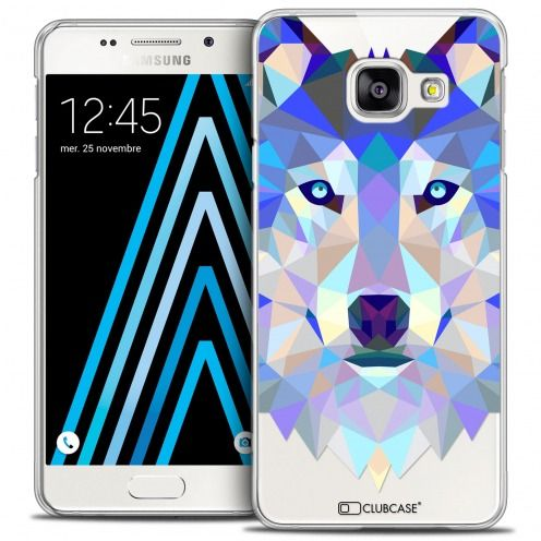 Carcasa Crystal Extra Fina Galaxy A3 2016 (A310) Polygon Animals Lobo