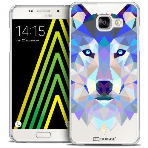 Carcasa Crystal Extra Fina Galaxy A5 2016 (A510) Polygon Animals Lobo