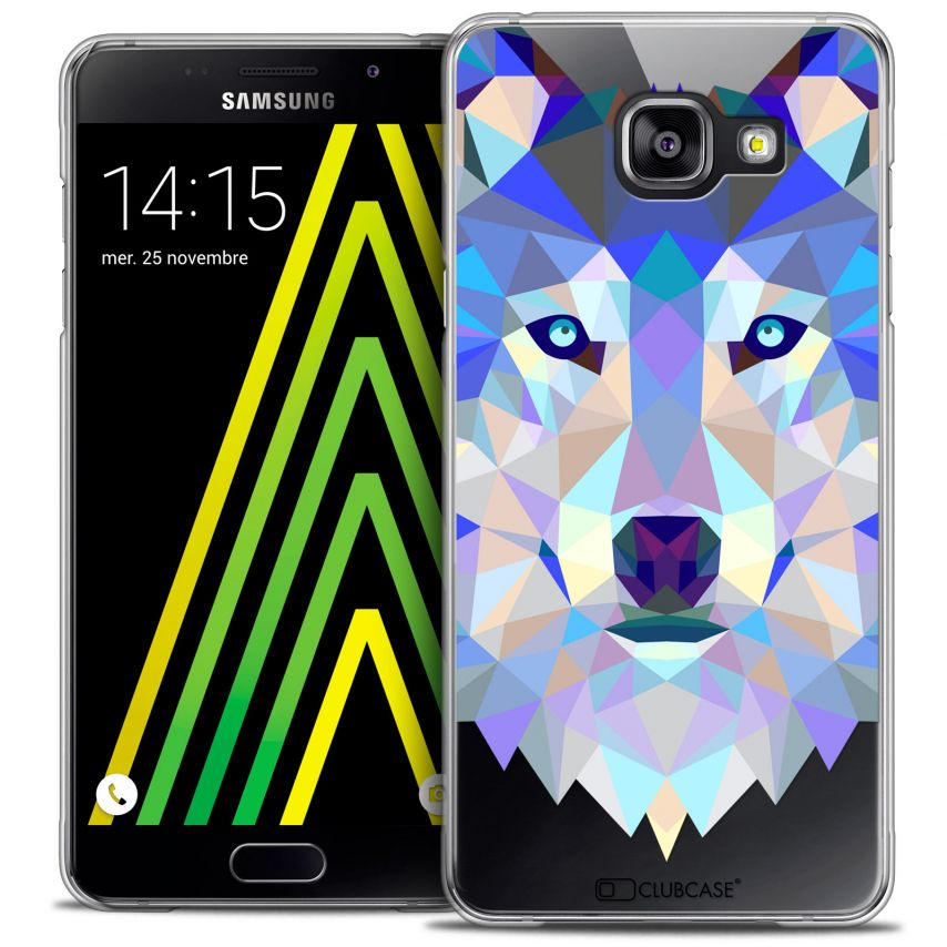 Carcasa Crystal Extra Fina Galaxy A5 2016 (A510) Polygon Animals Lobo