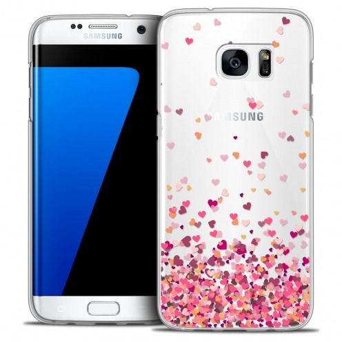 Carcasa Crystal Extra Fina Galaxy S7 Edge Sweetie Heart Flakes