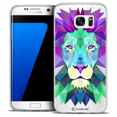 Carcasa Crystal Extra Fina Galaxy S7 Edge Polygon Animals León