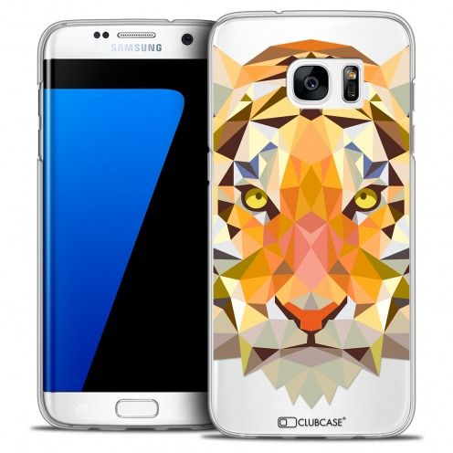 Carcasa Crystal Extra Fina Galaxy S7 Edge Polygon Animals Tigre