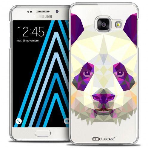 Carcasa Crystal Extra Fina Galaxy A3 2016 (A310) Polygon Animals Panda