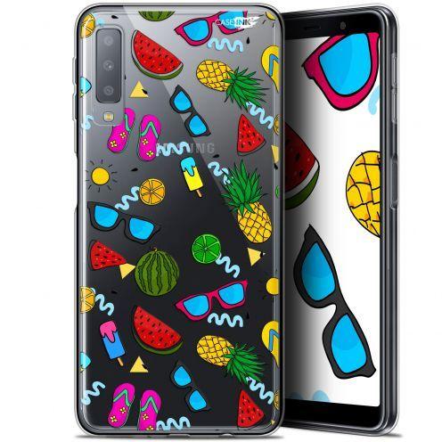 "Carcasa Gel Extra Fina Samsung Galaxy A7 2018 (A750) (6"") Design Summers"