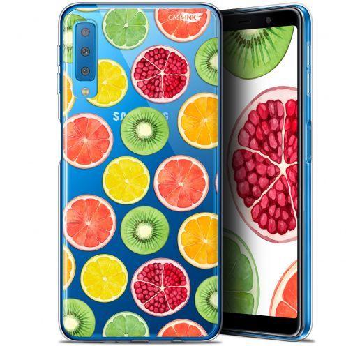 """Carcasa Gel Extra Fina Samsung Galaxy A7 2018 (A750) (6"""") Design Fruity Fresh"""