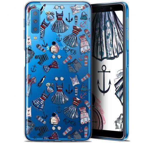 """Carcasa Gel Extra Fina Samsung Galaxy A7 2018 (A750) (6"""") Design Fashionista"""