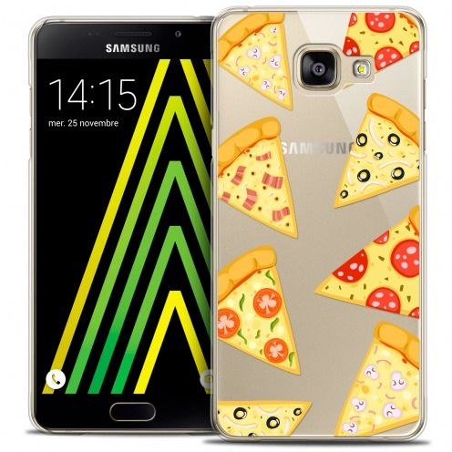 Carcasa Crystal Extra Fina Galaxy A5 2016 (A510) Foodie Pizza