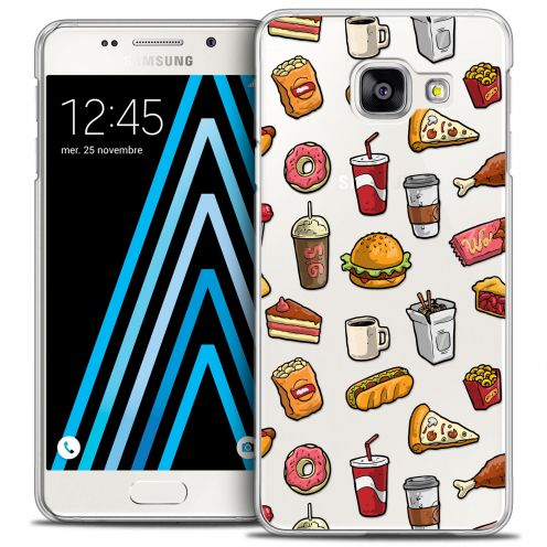 Carcasa Crystal Extra Fina Galaxy A5 2016 (A510) Foodie Fast Food