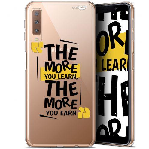 "Carcasa Gel Extra Fina Samsung Galaxy A7 2018 (A750) (6"") Design The More You Learn"