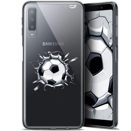 """Carcasa Gel Extra Fina Samsung Galaxy A7 2018 (A750) (6"""") Design Le Balon de Foot"""
