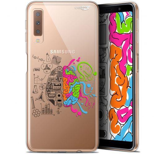 "Carcasa Gel Extra Fina Samsung Galaxy A7 2018 (A750) (6"") Design Le Cerveau"