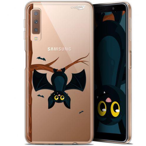 """Carcasa Gel Extra Fina Samsung Galaxy A7 2018 (A750) (6"""") Design Petite Chauve Souris"""