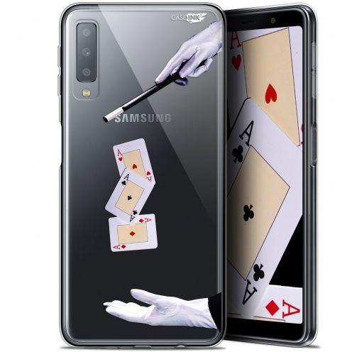"""Carcasa Gel Extra Fina Samsung Galaxy A7 2018 (A750) (6"""") Design Cartes Magiques"""