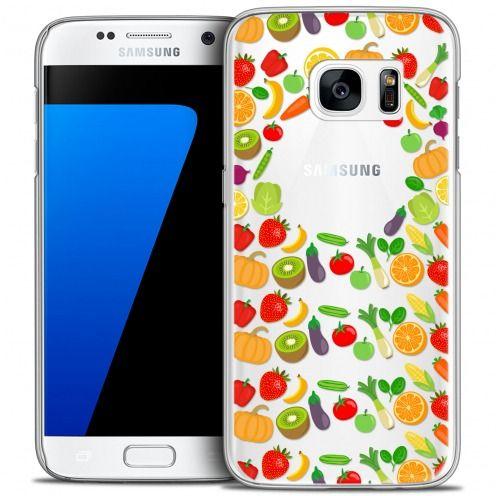 Carcasa Crystal Extra Fina Galaxy S7 Foodie Healthy