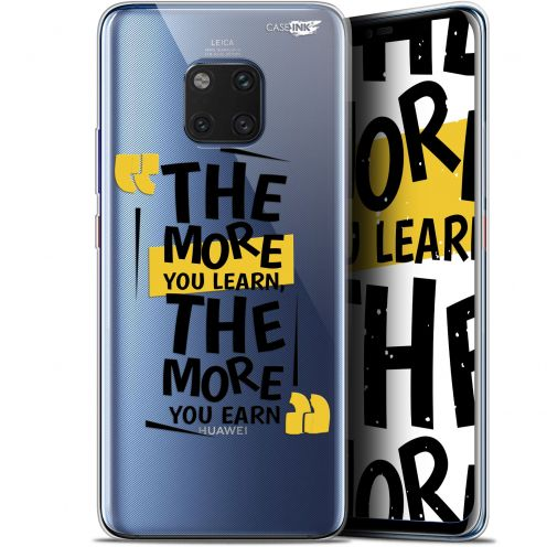 "Carcasa Gel Extra Fina Huawei Mate 20 Pro (6.39"") Design The More You Learn"