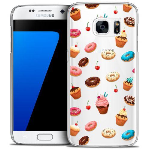 Carcasa Crystal Extra Fina Galaxy S7 Foodie Donuts