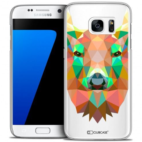Carcasa Crystal Extra Fina Galaxy S7 Polygon Animals Ciervo