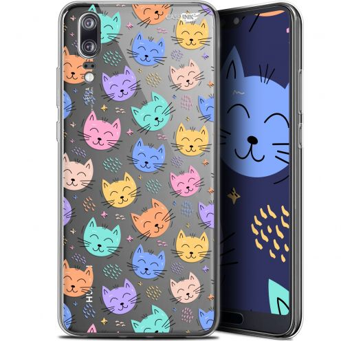 "Carcasa Gel Extra Fina Huawei P20 (5.8"") Design Chat Dormant"