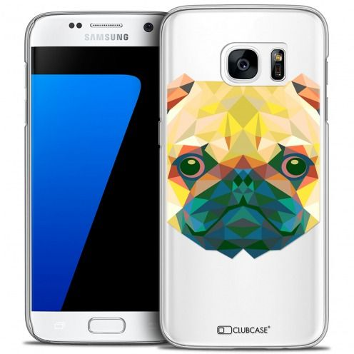 Carcasa Crystal Extra Fina Galaxy S7 Polygon Animals Perro