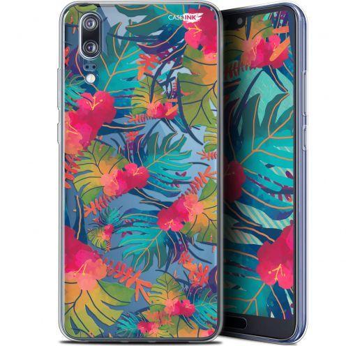 "Carcasa Gel Extra Fina Huawei P20 (5.8"") Design Couleurs des Tropiques"