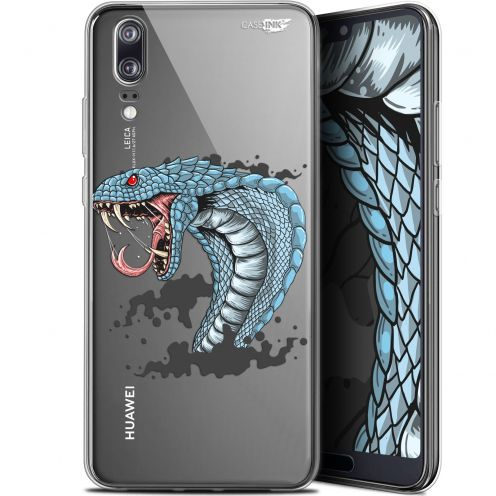 """Carcasa Gel Extra Fina Huawei P20 (5.8"""") Design Cobra Draw"""