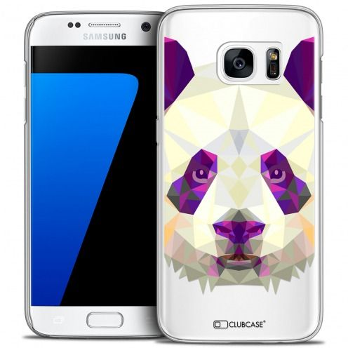 Carcasa Crystal Extra Fina Galaxy S7 Polygon Animals Panda