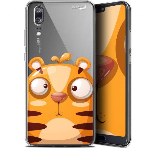 """Carcasa Gel Extra Fina Huawei P20 (5.8"""") Design Cartoon Tiger"""