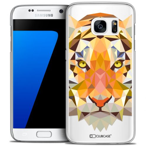 Carcasa Crystal Extra Fina Galaxy S7 Polygon Animals Tigre