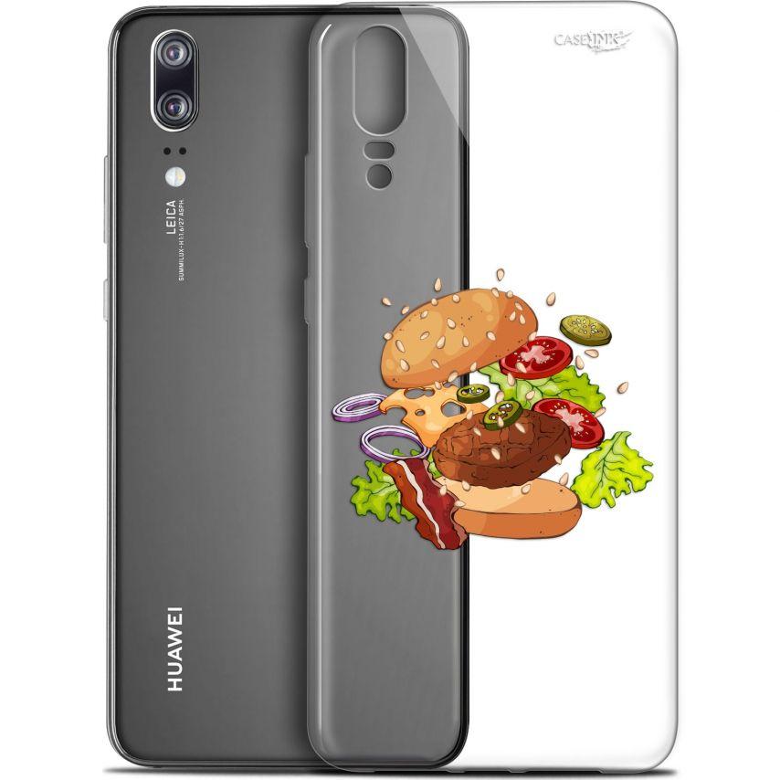 "Carcasa Gel Extra Fina Huawei P20 (5.8"") Design Splash Burger"