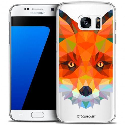 Carcasa Crystal Extra Fina Galaxy S7 Polygon Animals Zorro