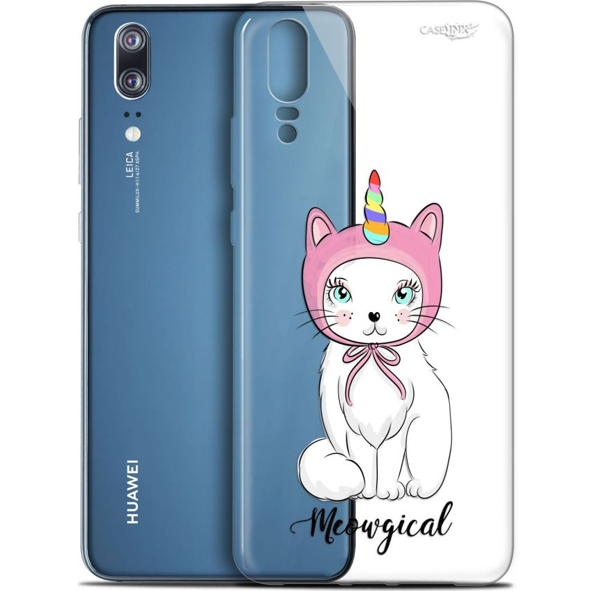 "Carcasa Gel Extra Fina Huawei P20 (5.8"") Design Ce Chat Est MEOUgical"