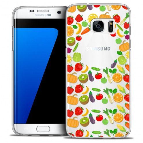 Carcasa Crystal Extra Fina Galaxy S7 Edge Foodie Healthy
