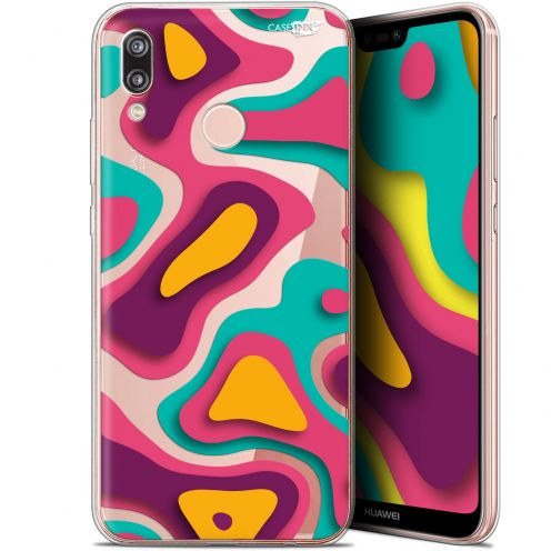 "Carcasa Gel Extra Fina Huawei P20 Lite (5.84"") Design Popings"