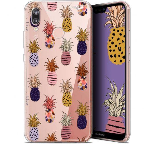 """Carcasa Gel Extra Fina Huawei P20 Lite (5.84"""") Design Ananas Gold"""