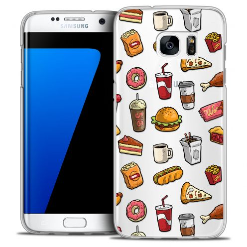 Carcasa Crystal Extra Fina Galaxy S7 Edge Foodie Fast Food
