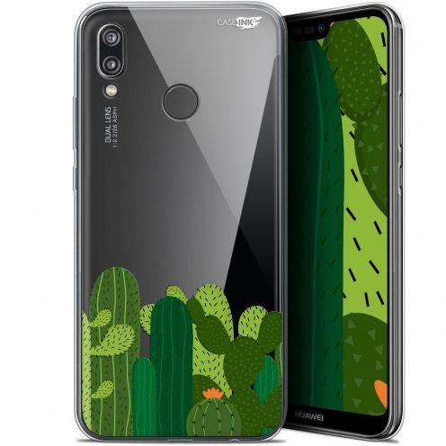 "Carcasa Gel Extra Fina Huawei P20 Lite (5.84"") Design Cactus"