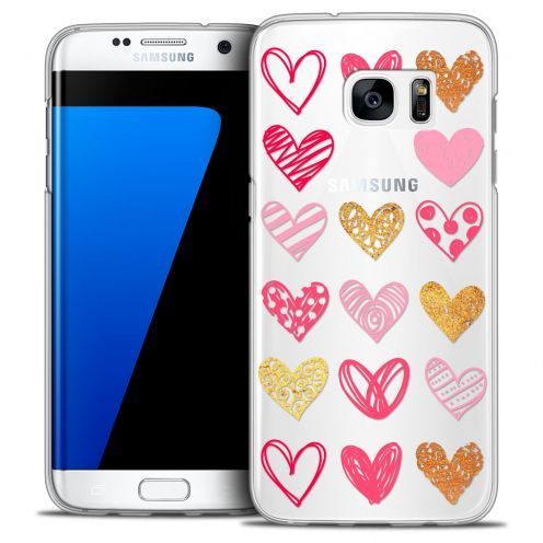 Carcasa Crystal Extra Fina Galaxy S7 Edge Sweetie Doodling Hearts