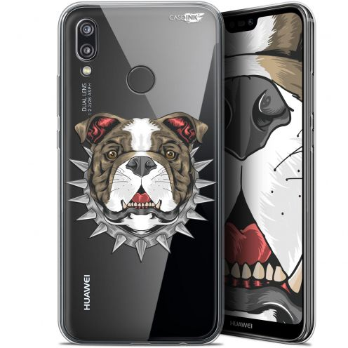 "Carcasa Gel Extra Fina Huawei P20 Lite (5.84"") Design Doggy"