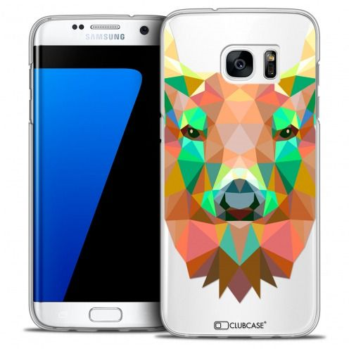 Carcasa Crystal Extra Fina Galaxy S7 Edge Polygon Animals Ciervo