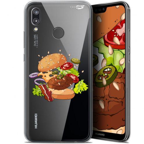 "Carcasa Gel Extra Fina Huawei P20 Lite (5.84"") Design Splash Burger"