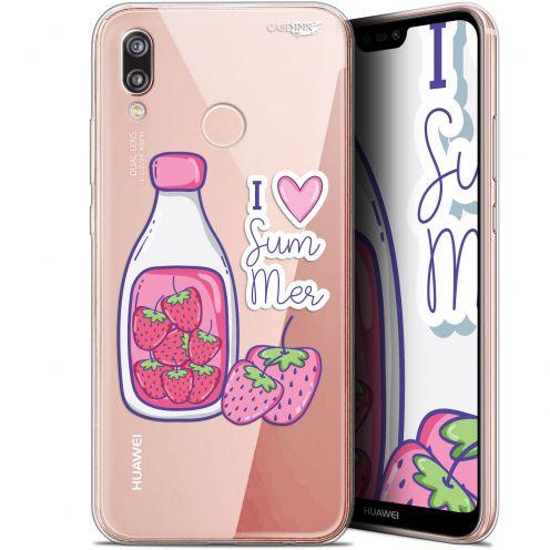 "Carcasa Gel Extra Fina Huawei P20 Lite (5.84"") Design Milky Summer"