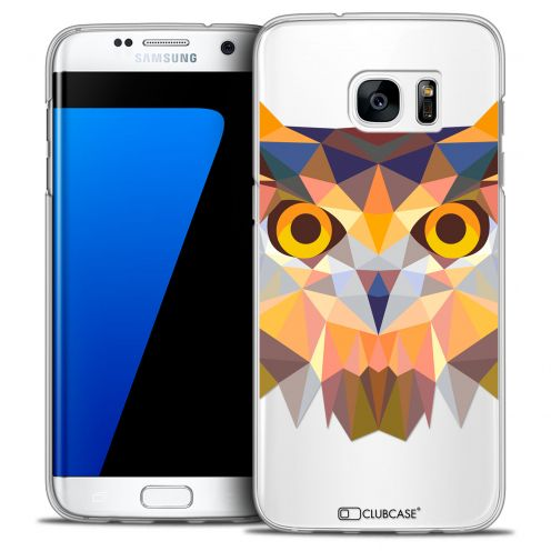 Carcasa Crystal Extra Fina Galaxy S7 Edge Polygon Animals Búho