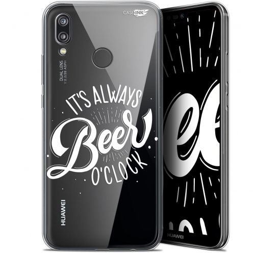 "Carcasa Gel Extra Fina Huawei P20 Lite (5.84"") Design Its Beer O'Clock"